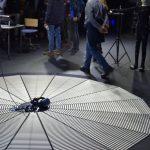 ImmerSAFE tech day at CIVIT omnideck demo - VR treadmill