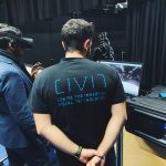 CIVIT demos at ImmerSAFE tech day VR real-time streaming Insta Pro camera