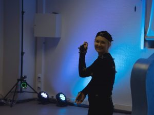 Motion Capture demo by CIVIT