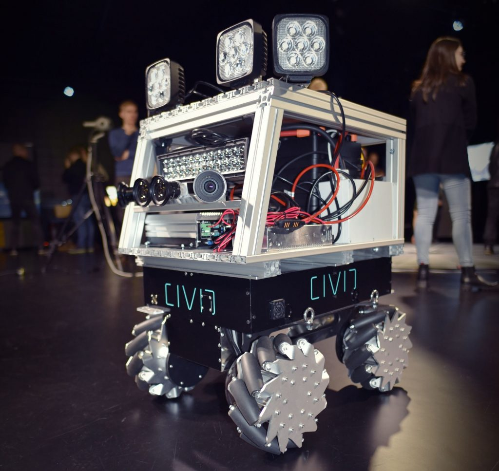 Robotic development platform at CIVIT (Robotnik)
