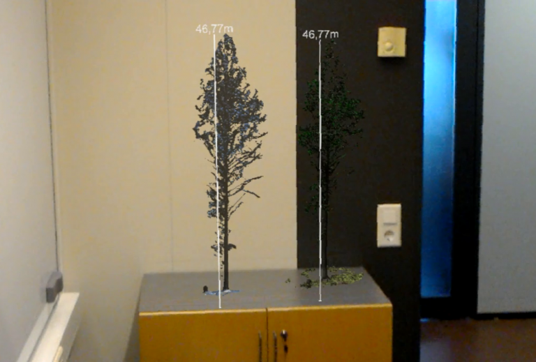 CIVIT demo: Finland's tallest tree through HoloLens